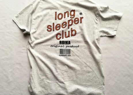 ROIKA/LSC/Tシャツ/アッシュ