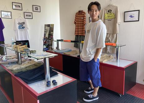 ROIKA/The Pingu Skates/Tシャツ/フリーサイズ /ホワイト