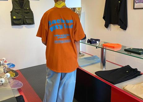 ROIKA/BOMF/Tシャツ/オレンジ