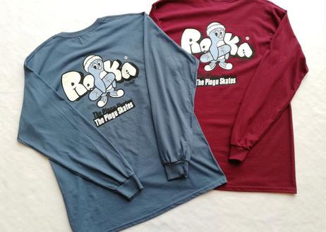 ROIKA/Pingu&board/ロンT/バーガンディ