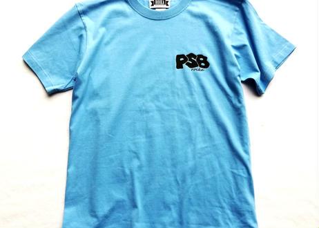 ROIKA/PSB/Tシャツ/サックス