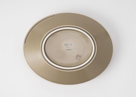 吉行 良平 カレー皿「d plate」