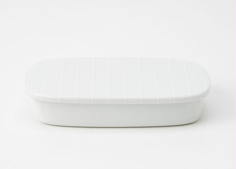 清水 久和 カレー皿「機内食の皿」