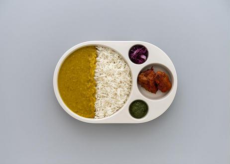 角田 陽太 カレー皿「Curry Circle」