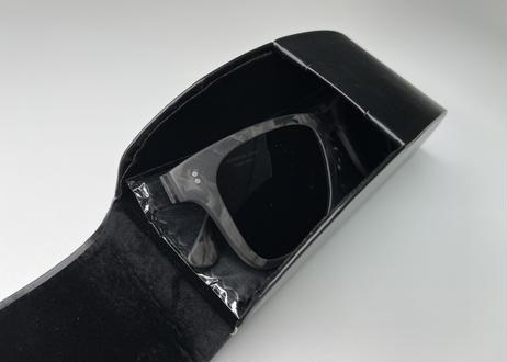 HIGHSPARK JAPAN®_ Forged Carbon Sunglasses Regular temple