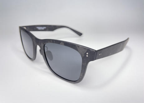HIGHSPARK JAPAN®_ Forged Carbon Sunglasses Regular temple