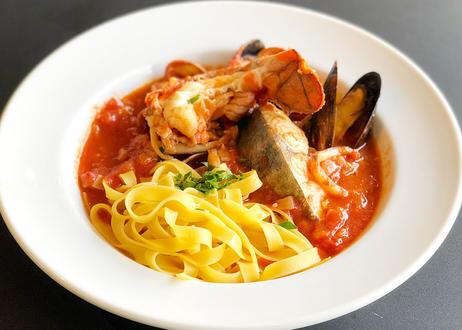 【季節のお料理】トマトたっぷりのイタリア風ブイヤベースSET(4名様)