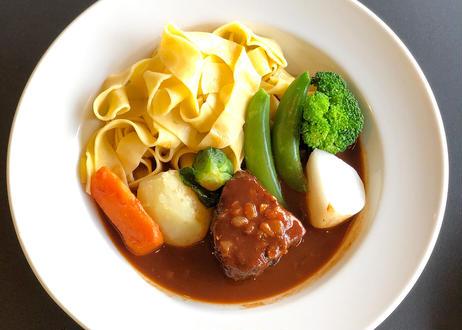 【季節のお料理】黒毛和牛ほほ肉のビーフシチューSET (4名様)