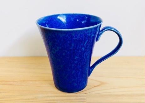 瑠璃水滴手付ビールカップ