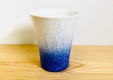 藍染水滴反ビアカップ