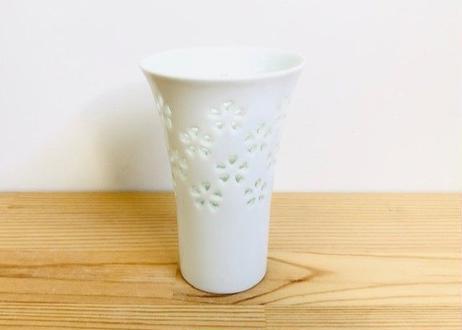 水晶花詰ビールコップ