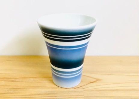ブルーラインビアカップ