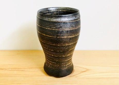 晶金かすり糸切ビアカップ