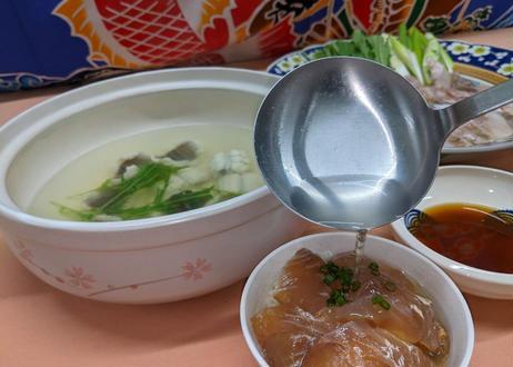【鯛&ハモ】しゃぶしゃぶセット3~4人前【締めはダシ茶漬けで決まり】