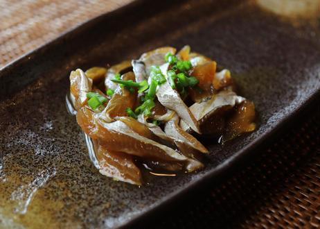 漁師の季節漬け 太刀魚の出汁醤油仕込み
