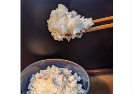 【太刀魚出汁で炊く】太刀魚めしの素【2合用】