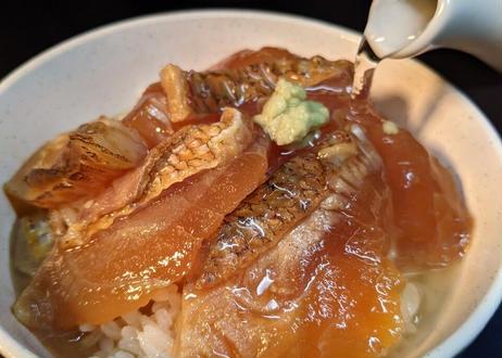 漁師の季節茶漬け 炙り真鯛の出汁醤油仕込み