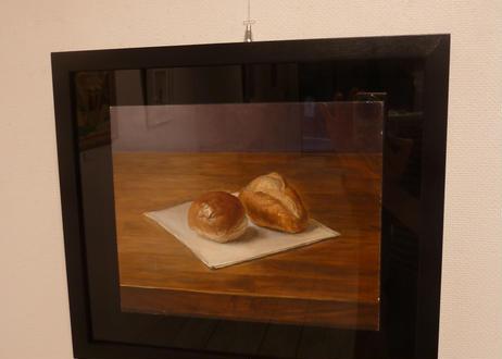 石田 淳一 『卓上のパン』