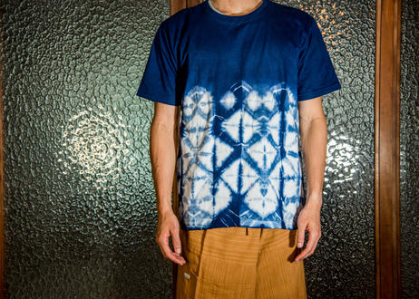 タイTシャツ_藍染