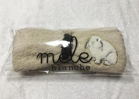 マシュマロラビットカラー 刺繍ヘアバンド