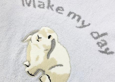 マシュマロボアラビット刺繍ワンピース