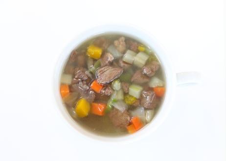 【特製スープカップ付き】ザ・パワースープ 2種セット(馬肉・鶏胸肉/各5パック入り)