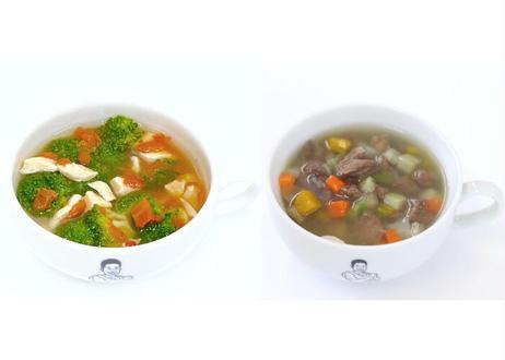 ザ・パワースープ 2種セット(トマト&ブロッコリー5パック・馬肉5パック入り)カップ無し
