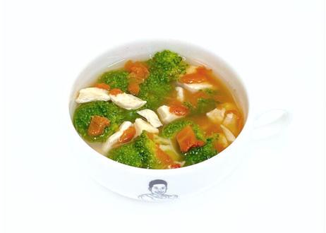 ザ・パワースープ 2種セット(トマト&ブロッコリー5パック・鶏胸肉5パック入り)カップ無し