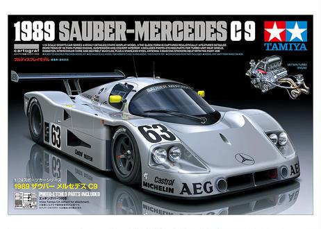 タミヤ 1/24 1989 ザウバー メルセデス C9 スポーツカーシリーズ No.359