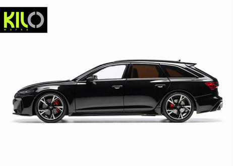 【予約】KILO WORKS 1/18 2021 Audi RS6 C8 Avant
