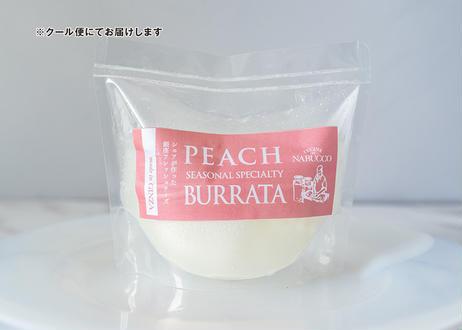 【夏季・数量限定!】旬の白桃をそのままクリーミーなチーズに詰め込んだ『とろける白桃ブッラータ』