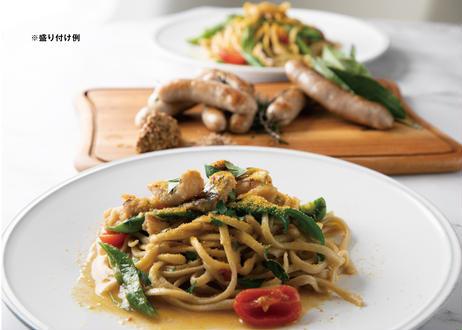 【ギフトセット】レストランの選べるパスタソース[2食分]&無添加サルシッチャ・無添加ブティファラソーセージセット