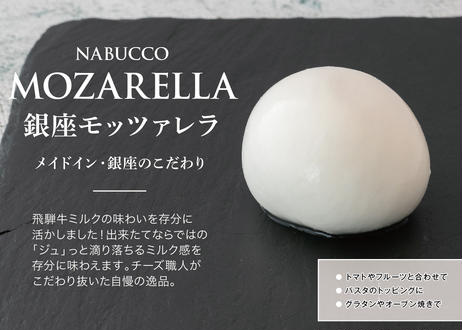 【銀座の手作りフレッシュチーズ】とろける完熟マンゴーブッラータ・リコッタ・モッツァレラの3種類をセットで