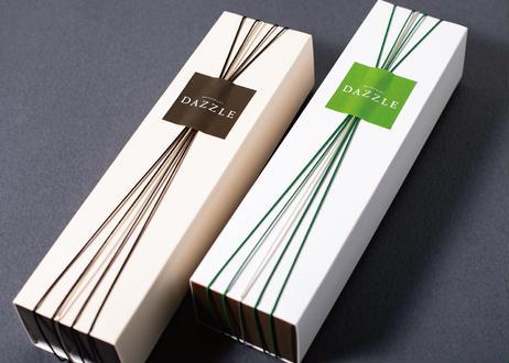 【銀座・生ショコラテリーヌ・2本セット】3種のクーベルチュールチョコレート とコロンビアコーヒー/ 厳選ホワイトチョコレートと濃抹茶のセット