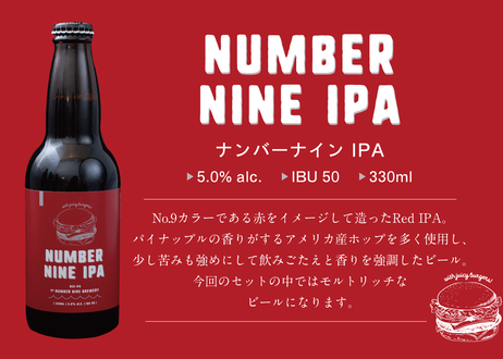 No.9 BREWERY ボトルクラフトビール6種セット