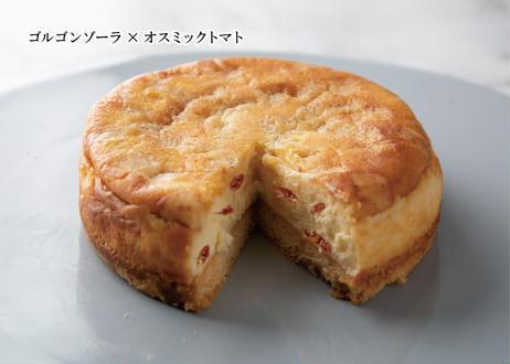 【銀座・ベイクドチーズケーキ食べ比べセット 】スタンダード/ゴルゴンゾーラとオスミックトマト