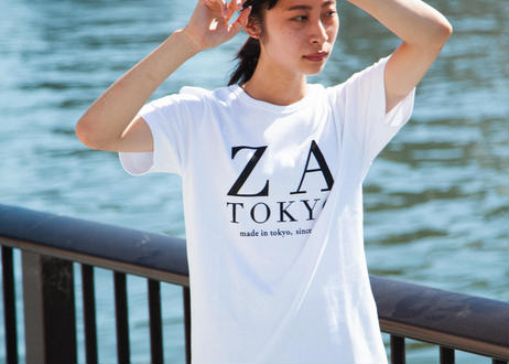 ZA TOKYO ソフトクルーネック ZA TOKYO GRAPHICT03