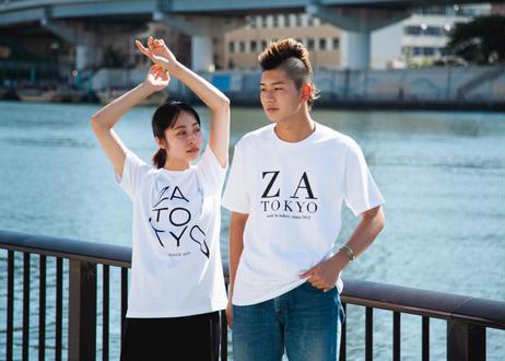 ZA TOKYO ベーシッククルーネック ZA TOKYO GRAPHICT03