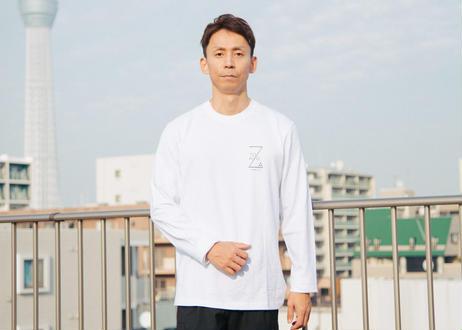 ZA TOKYO ベーシッククルーネック ロングTシャツ GRAPHIC01