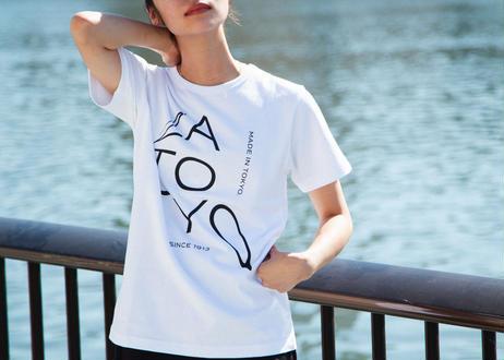 ZA TOKYO ソフトクルーネック ZA TOKYO GRAPHICT04