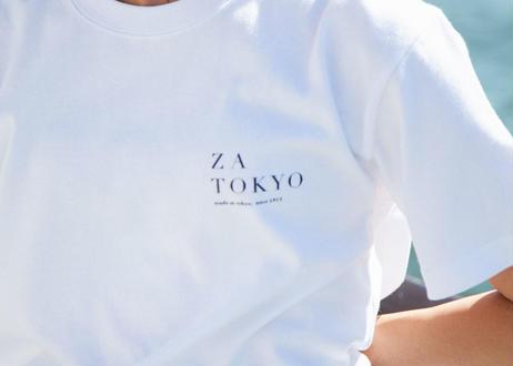 ZA TOKYO ソフトクルーネック ZA TOKYO GRAPHICT01