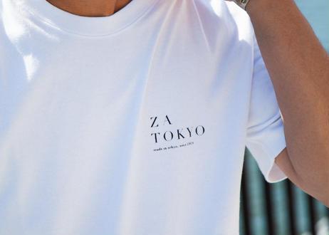 ZA TOKYO ベーシッククルーネック ZA TOKYO GRAPHICT01