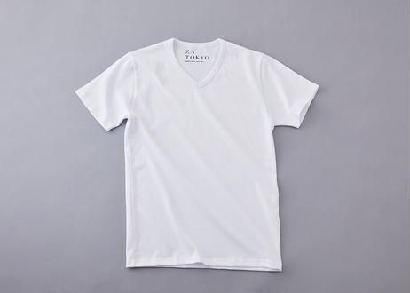 ZA TOKYO ソフトVネックTシャツ