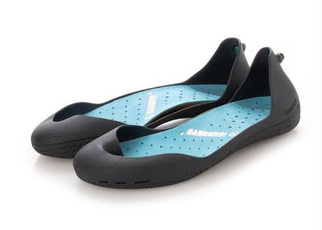 FS Charcoal Gray ボディ(Turquoise Blue インソール)