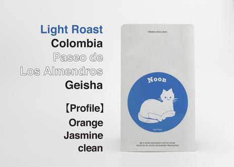 【LIGHT】COLOMBIA /Paseo de Los Almendros Geisha 【200g】
