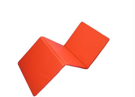 巾600mm オリジナル三つ折りストレッチマット  赤
