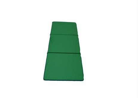 巾500mm オリジナル三つ折りストレッチマット  緑