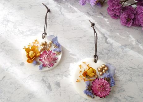 《花遊びアロマワックスサシェ》金木犀