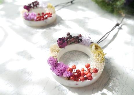 《花遊びアロマワックスサシェ》Rose Cakes
