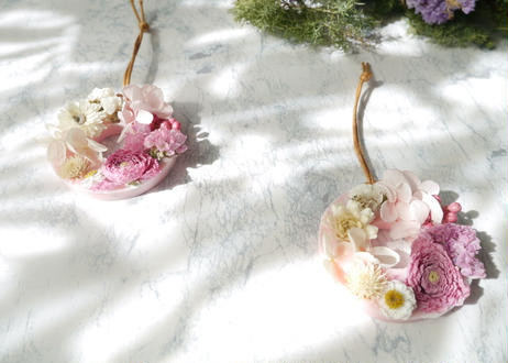 《花遊びアロマワックスサシェ》Ranunculus Pink